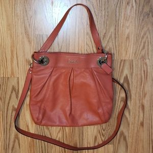 COACH Coral Shoulder/crossbows leather Bag